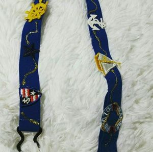 Vintage Kids Hair-N-There Nautical Themed Belt